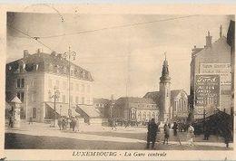 ST37//  LUXEMBOURG   LA GARE - Ansichtskarten