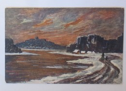 Künstlerkarte, Winterlandschaft,   1900, Senger  ♥ (28332) - 1900-1949