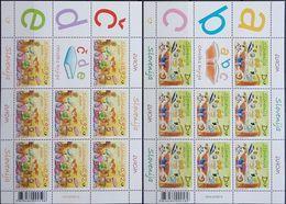 Slovenia, 2010, Mi. 851-52, Y&T 703-04, Sc. 845-46, SG 897-98, Europa, Children's Books, MNH - 2010