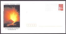 France - PAP Eruption, Volcan Etna, Volcano LAVE Volcanologie - Enteros Postales
