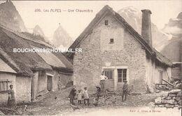 26 Lus La Croix Haute - La Jarjatte - Les Alpes Une Chaumiere - Editeur à Serres (05) Poules Chevres Goat - Frankreich