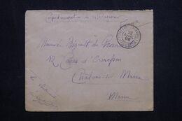 MADAGASCAR - Enveloppe En FM Du Corps D'Occupation De Madagascar En 1896 Pour La France, Voir Cachet - L 64813 - Madagascar (1889-1960)