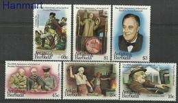 Antigua And Barbuda 1982 Mi 687-692 MNH ( ZS2 ANB687-692 ) - Voitures