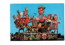 Cpm - 06 - NICE - CARNAVAL LXXXIII Char Roi Des Vacances 1967 CHÈVRE PAPILLON SIRÈNE VOITURE COCCINELLE Aigle - Karneval - Fasching