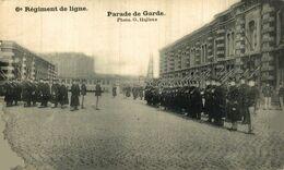 BERCHEM Militaire - Militair // 6e Regiment De Ligne - Parade De Garde (photo G. Hall ANVERS ANTWERPEN  Bélgica Belgique - Antwerpen