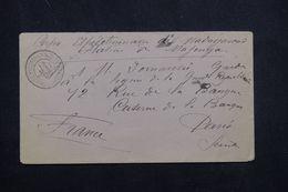 MADAGASCAR -  Enveloppe Du Corps Expéditionnaire, Station  De Majunga En FM En 1895 Pour Paris - L 64816 - Madagascar (1889-1960)