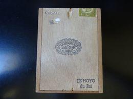 Boîte En Bois De Cigares Hoyo De Monterrey, Vide - Boites à Tabac Vides