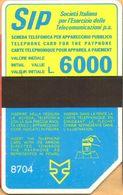 "ITALY - C & C 1054, Sida ""Terzo Gruppo"" - Code 8704, 6,000 ₤, 4/87, Used - Special Uses"