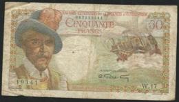 50 Francs - Caisse Centrale De La France D'Outremer  - 042419341  -  /  19341  W.17-  Laura5207 - Frankrijk