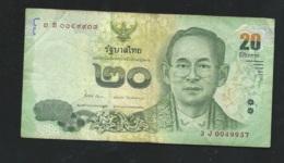 Thailand 20 Bath  / 3 J0049937 Laura5211 - Thaïlande