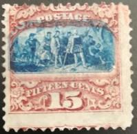 USA Landund Des Columbus 15 Ct MiNr.:32 II * Ohne Gummi (without Gum) - Unused Stamps