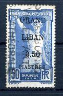 1924 GRAN LIBANO N.21 USATO - Used Stamps
