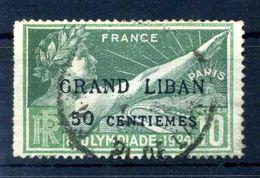 1924 GRAN LIBANO N.18 USATO - Used Stamps