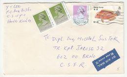 Hong Kong, Letter Cover Posted 1992 B200720 - Hong Kong (...-1997)