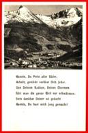 Bad Gastein Geamtansicht - Karte Mit Gedicht Ugl - Bad Gastein