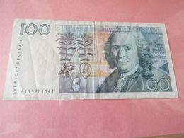 Schweden Riksbank 100 Kronor O.D. Ohne Hologram - Svezia