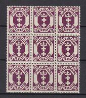 Danzig - 1922 - Michel Nr. 93 Neuener Block - Postfrisch - 30 Euro - Danzig