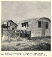 "NOISY LE GRAND ""igloos"" Habitations Provisoires 1956 - Ohne Zuordnung"