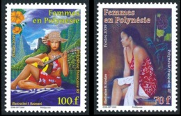 "POLYNESIE 2009 - Yv. 865 Et 866 ** TB  Faciale= 1,43 EUR - Tableaux ""Femmes En Polynésie"" (2 Val.)  ..Réf.POL25308 - Polinesia Francesa"
