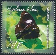 POLYNESIE 2009 - Yv. 862 ** TB  - Papillon Hypolimnas Bolina Otaheitae  ..Réf.POL25306 - Polinesia Francesa