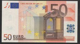 S  ITALIA 50 EURO J048   -  TRICHET   UNC - EURO