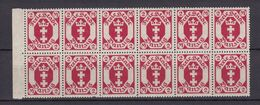 Danzig - 1922 - Michel Nr. 96 Bogenteil - Postfrisch - 30 Euro - Danzig