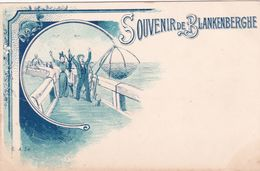 CPA - Belgique - Souvenir De Blankenberghe - Pêche - A. Sw N°5 - Blankenberge