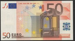 S ITALIA 50 EURO J032   TRICHET  FDS/UNC/NEUF - EURO