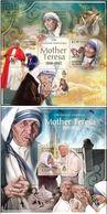 Salomon 2013, Mother Teresa, Pope J. P. II, 4val In BF+BF - Mother Teresa