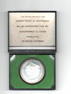 NEDERLANDSE ANTILLEN 25 GULDEN 1973 ZILVER PROOF 25 JAAR KONINGIN JULIANA - Antillen (Niederländische)