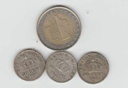 Lot De 3 50c Argent - France