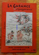La Garance Voyageuse été 2001 N°54 : Erika, Tomate, Menthe, Lornimont, Aulne, Brevets - Nature