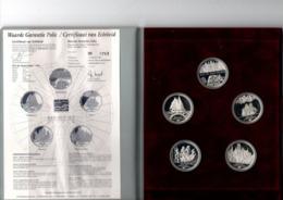 NEDERLAND ECU SET 1995 SAIL AMSTERDAM MET 5 ZILVEREN 2 ECU STUKKEN - [ 6] Monnaies Commerciales