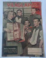 Vilaglapja Hungary 1943 Magazin Cover WWII Soldier - Aardrijkskunde & Geschiedenis