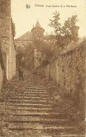 CHIMAY - Grand Escalier De La Ville Basse - Oblitération De 1932 - Edit. E. Hubert, Papeterie-Parfumerie, Chimay - Chimay