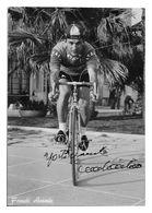 CARTE CYCLISME ANTONIO FRANCHI SIGNEE TEAM ATALA 1962 - Cyclisme