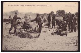 FREJUS Camp Des Sénégalais Distribution De Bois - Frejus