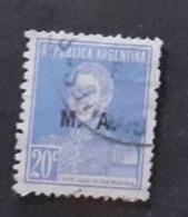 Amérique >Argentine   Service N° 195 - Servizio
