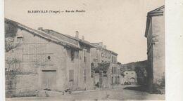 CPA  BLEURVILLE RUE DU MOULIN - France