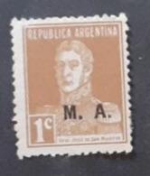 Amérique >Argentine   Service N°186 - Servizio
