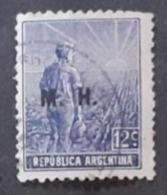 Amérique >Argentine   Service N° 55 - Servizio