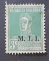 Amérique >Argentine   Service N° 251 - Servizio