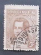 Amérique >Argentine   Service N° 340 - Servizio