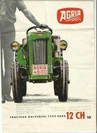 Publicite Tracteur Universel Tyoe 4800 12 Cv  SAE - Tracteurs