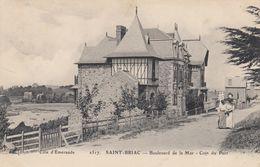Saint-Briac.  Boulevard De La Mer.  Coin Du Port - Saint-Briac