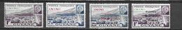 Inini   1941/44    Yt 51/52 + 57/58 * MLH - Unused Stamps