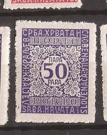 KR 2  1921  55    JUGOSLAVIJA JUGOSLAWIEN  PORTO     MNH - Neufs