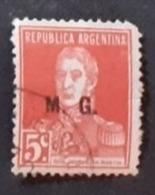 Amérique >Argentine   Service N° 194 - Servizio