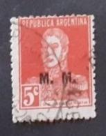 Amérique >Argentine   Service N° 214 - Servizio