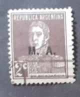 Amérique >Argentine   Service N°188 - Servizio
